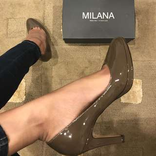 Leather Milana Heels Made In Italy