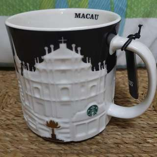 Starbucks Macau Relief Mugs