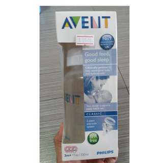 Avent Milk Bottle (11oz)