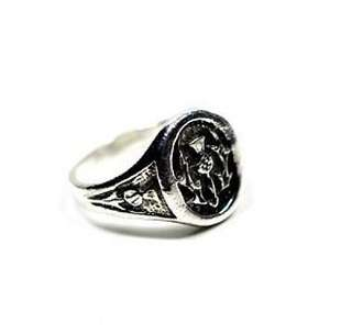 New Scottish Celtic Thistle Ring Sterling silver 925 Size 12