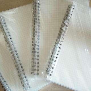 Muji Style Notebook