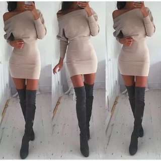Pre-Order Jumper Sweater Dress