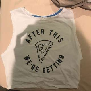 Pizza T-shirt! From supre