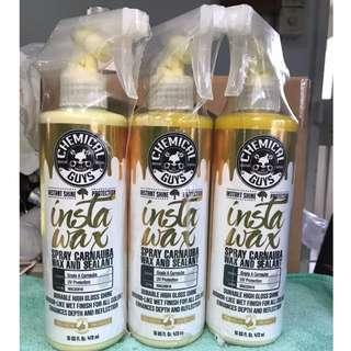 ☆Instock☆ InstaWax Chemical Guys (Spray Carnauba Wax + Sealant)