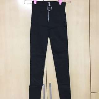 Ring Zip Leggings/pants