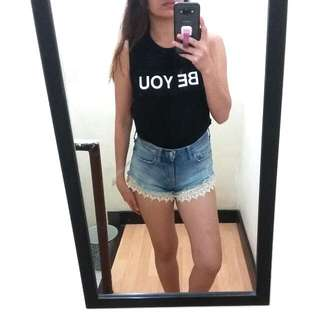 F21 Forever 21 BE YOU Muscle Tee