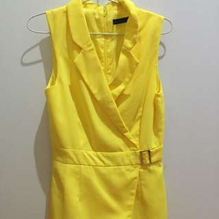 NYLA yellow Jumpsuit In Yellow