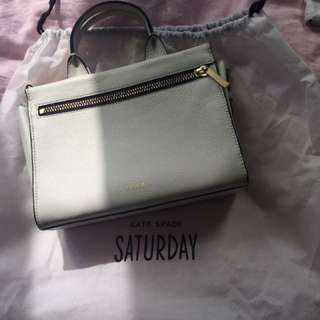 Kate spade white crossbody bag