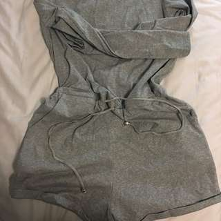 Long Sleeve Playsuit