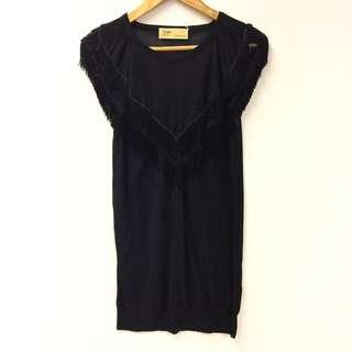 Toga black top size
