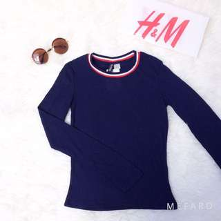 💖 SALE NEW H&M Navy Casual T-shirt