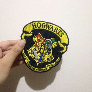 Embroidered Hogwarts Badges
