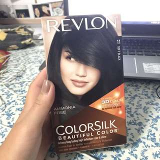 revlon black hair dye