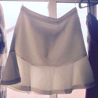 JustFab Peplum Skirt