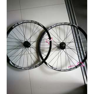 DH Wheelsets from Polygon Dh1 2013