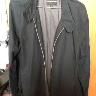 Country Road Navy Jacket Coat Size Medium