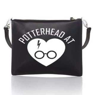 Harry Potter Potterhead Trendy Leather Body Bag Onhand