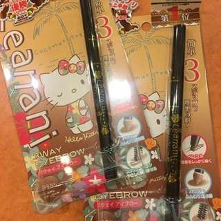 Hello Kitty 3 In 1 For Eyebrows
