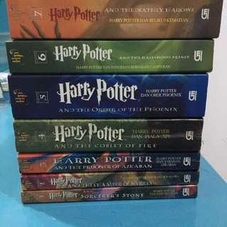 Novel Harry Potter 1 SET (7 buku) Bahasa Indonesia