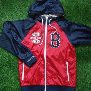 Vintage Mitchell & Ness Boston Redsox Jacket Cooperstown jacket Collection