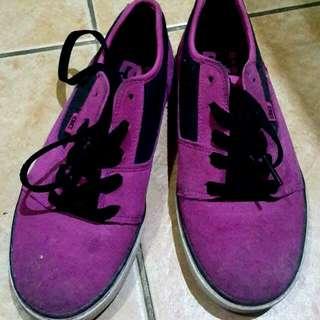 DC Pink Black Shoes