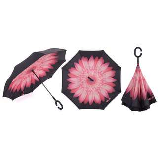REVERSIBLE INVERTED UMBRELLA!