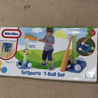 Little Tikes T-bal Baseball Set