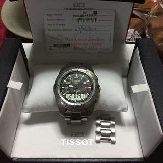 TISSOT 全鈦合金手錶
