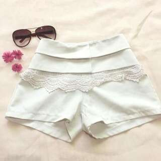 Mini White Short