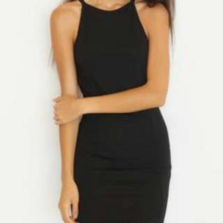 BNWT Black Bodycon Dress