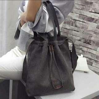 •INSTOCK• Korean Two-Way Canvas Sling Bag