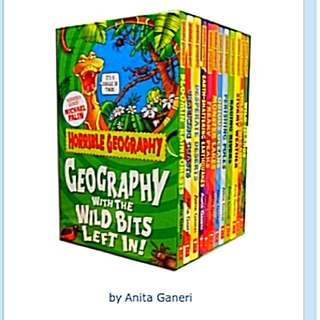 Horrible Geography Collection (12 Books)