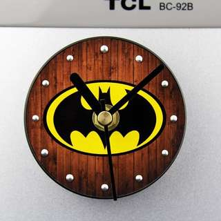 Batman Refrigerator Magnet Clock