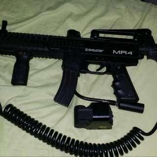 Spyder MR4 Paint ball gun