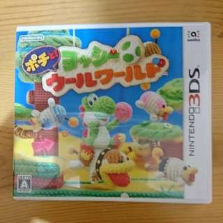 3ds yoshi's woolly world 日版