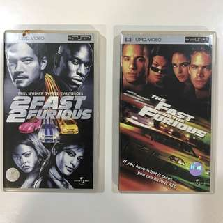 The Fast And The Furious / 2 Fast 2 Furious  - PSP UMD video
