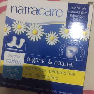 Natracare softex tampons organic