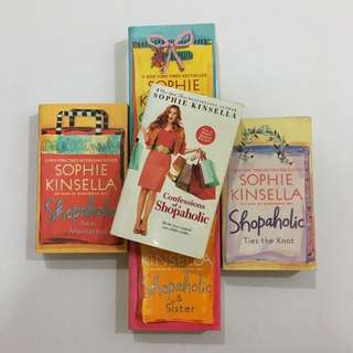 Confessions of a Shopaholic series by Sophie Kinsella