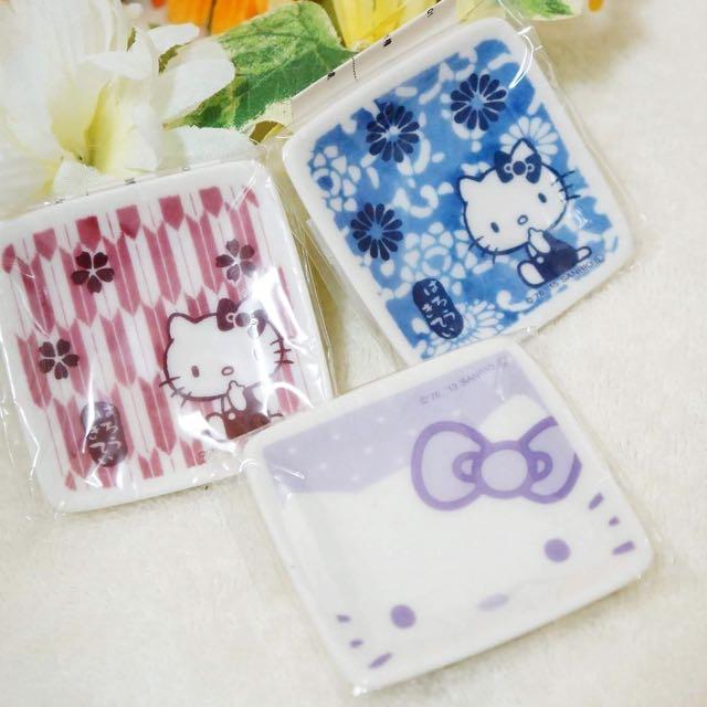 日製kitty陶瓷小蝶