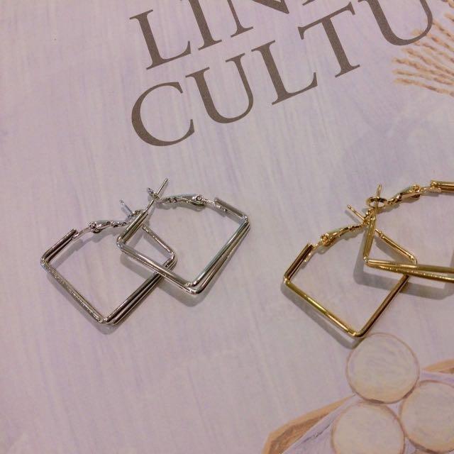 ▫️▪️方型耳環▪️▫️