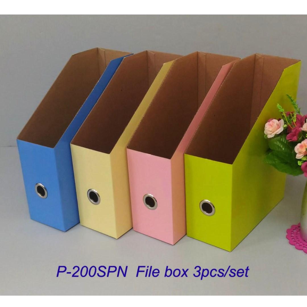 春天系列雜誌盒 4PCS/組