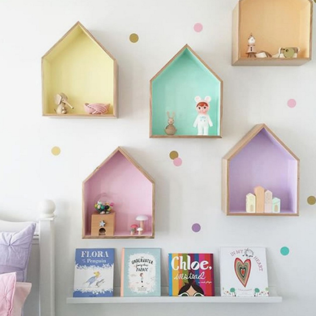 北歐置物架 客廳壁飾 壁飾 拍攝道具 INS牆飾 生日禮物 嬰兒房壁飾 婚禮會場怖置