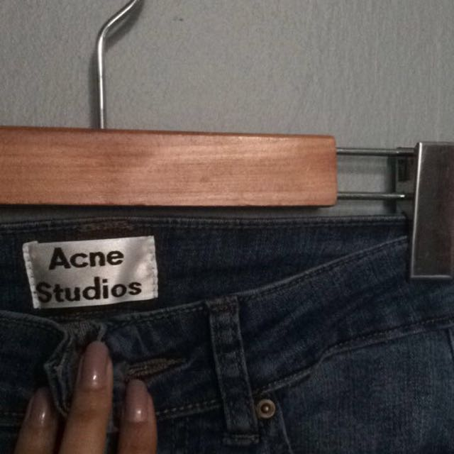 ACNE STUDIOS Distressed Denim Jeans *REDUCED*
