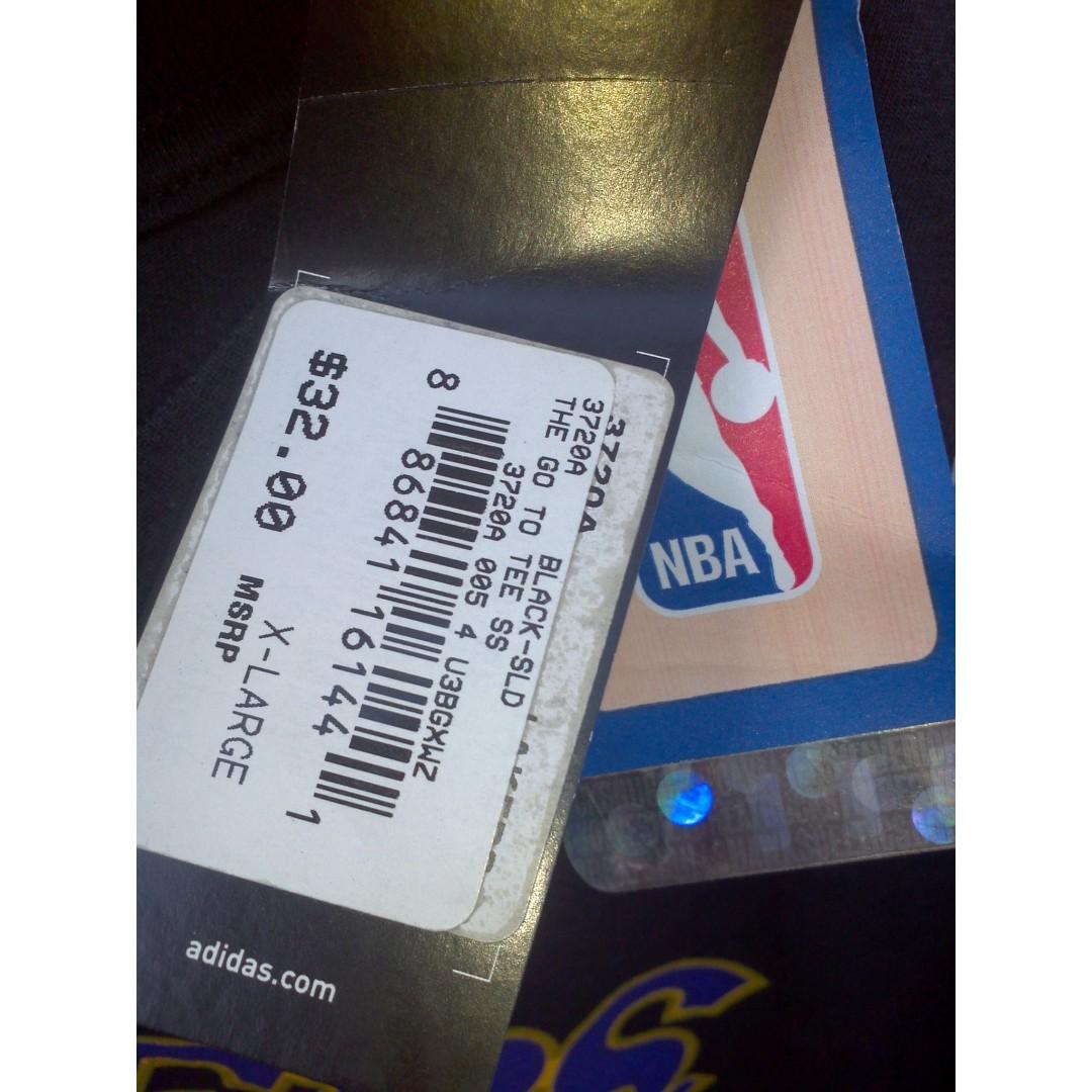 440bddc15 Adidas Lakers Howard 12 Black Shirt