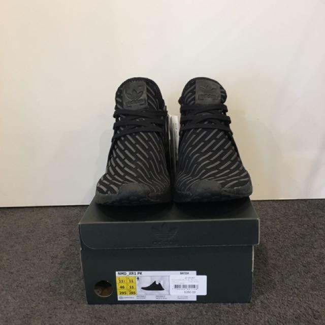 Adidas NMD XR1 Triple Black US11.5 (New)