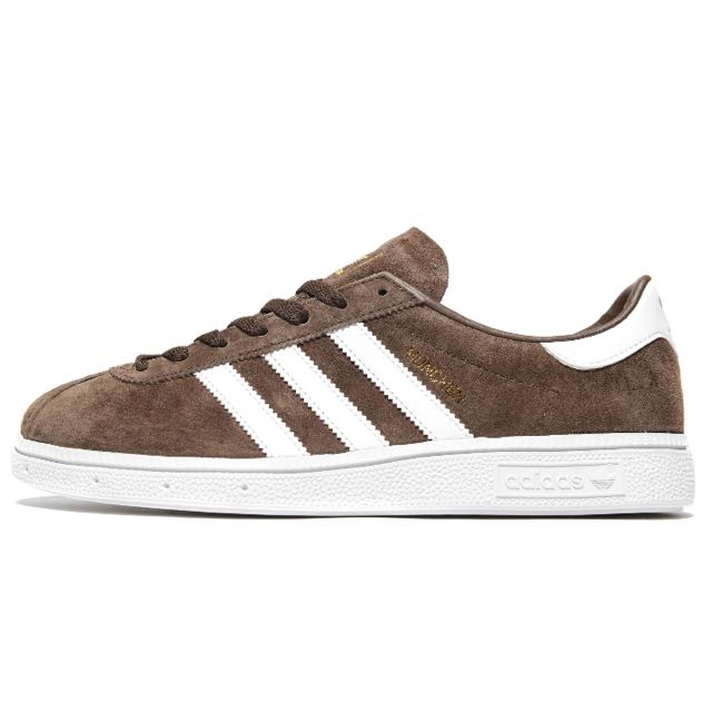 sports shoes b33fa 2556a Authentic Adidas Munchen Suede Brown, Men s Fashion, Footwear on Carousell