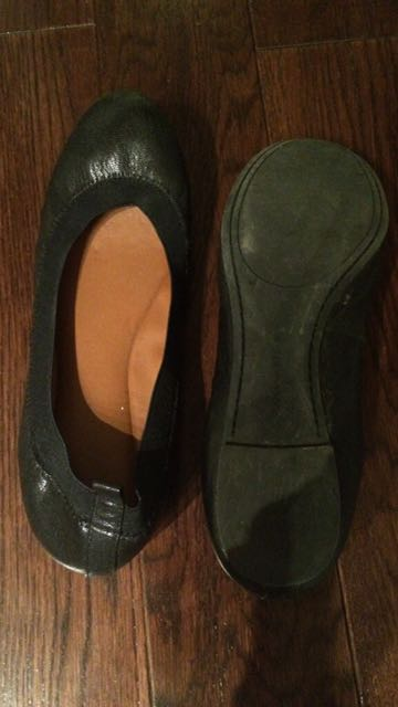 Banana Republic Black Flats
