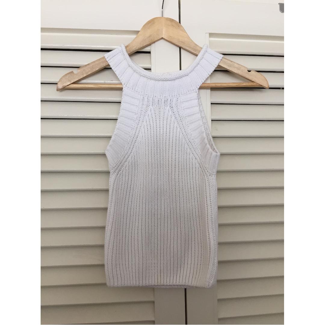 Bardot High Neck Knit top (size 6)