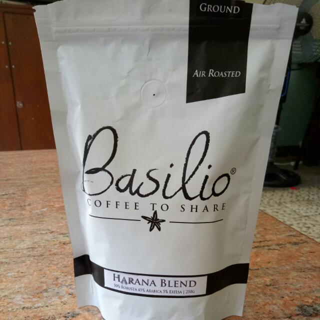 Basilio Ground Coffee 250g