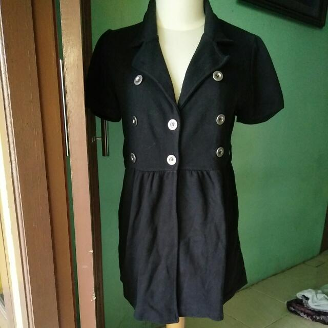 Black Coat Blouse